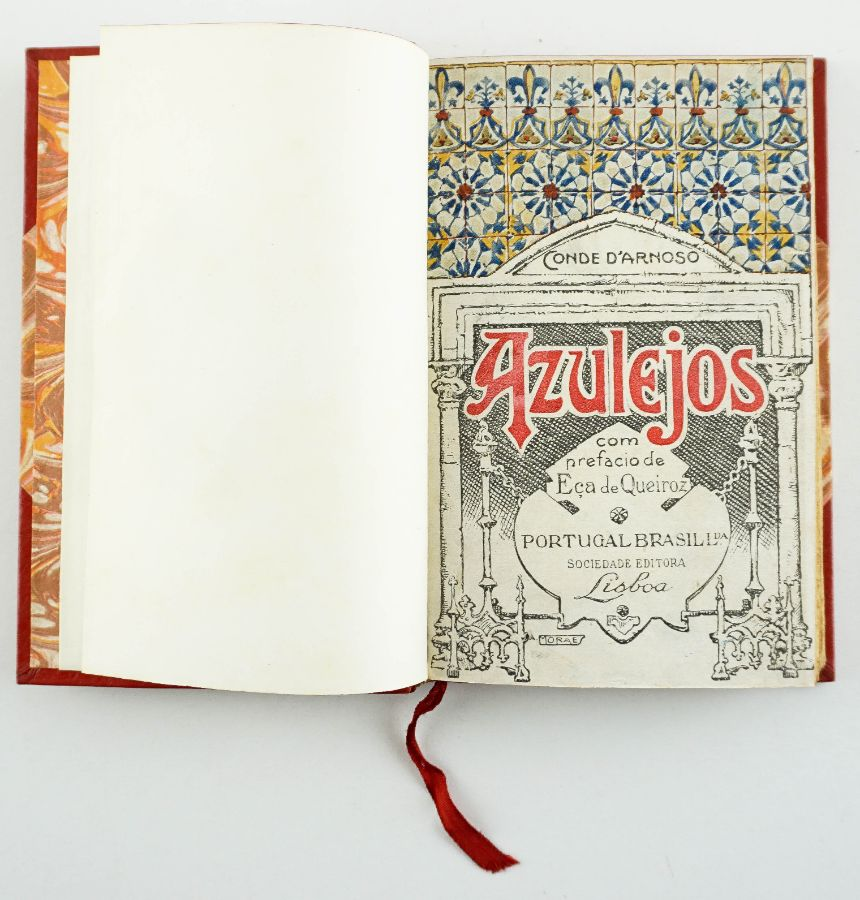 Azulejos, Conde D'Arnoso com prefacio Eça de Queiroz