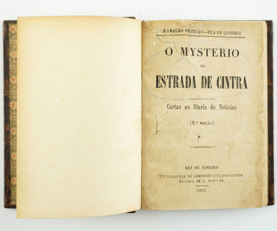 O Mysterio da Estrada de Cintra, Ramalho Ortigão – Eça de Queiroz