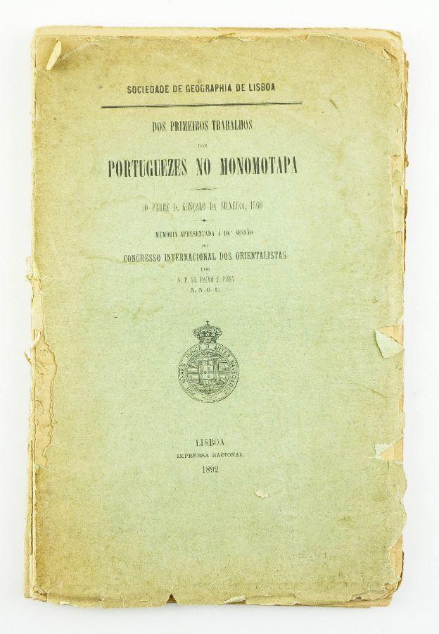 Dos Primeiros trabalhos dos Portuguezes no Monomotapa