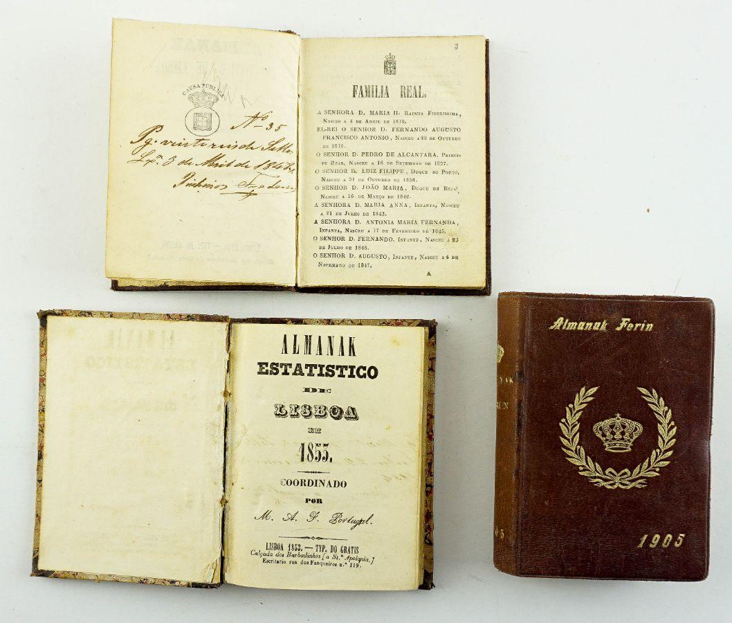 Almanak Estatistico de Lisboa em 1848 Coordenado por M.A.F.