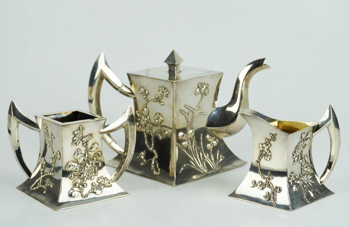 Serviço de chá Arte Nova