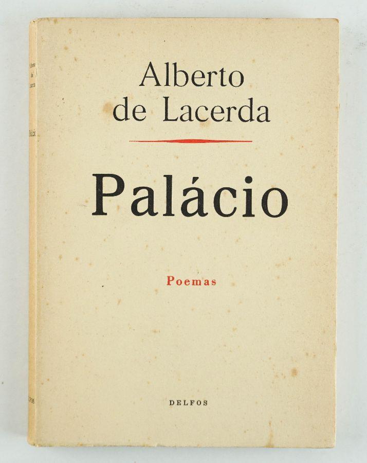 Alberto de Lacerda – com dedicatória