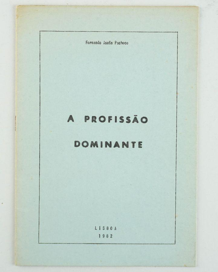 Fernando Assis Pacheco – com dedicatória