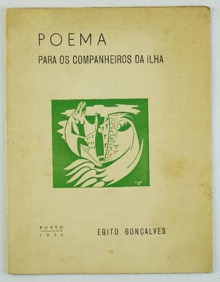 Egito Gonçalves – primeiro livro do autor
