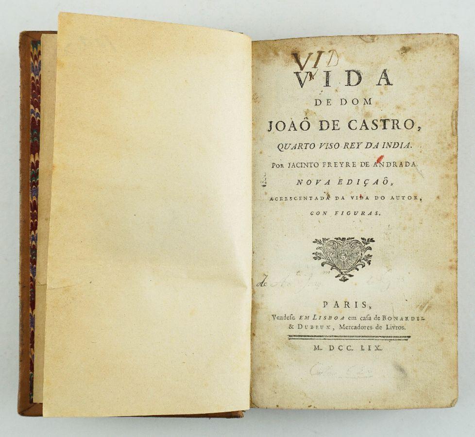 Vida de Dom João de Castro (1759)
