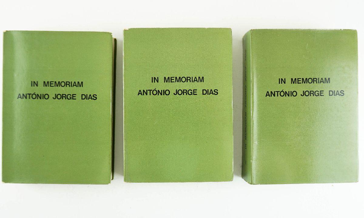 In Memoriam António Jorge Dias