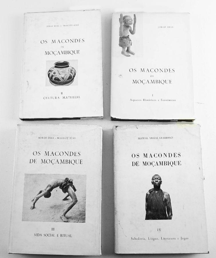 Os Macondes de Moçambique 4 Volumes