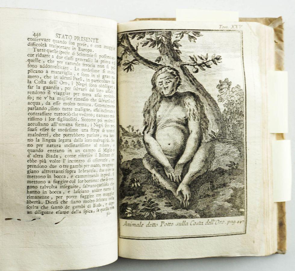 Lo Stato Presente di Tutti I Paesi, Epopoli del Mondo Naturale, Politico, e Morale Volume XXV 1765
