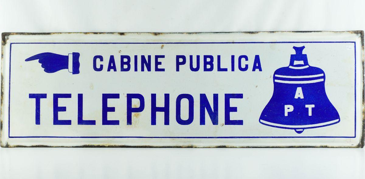 Placa publicitária (Cabine Telefónica)
