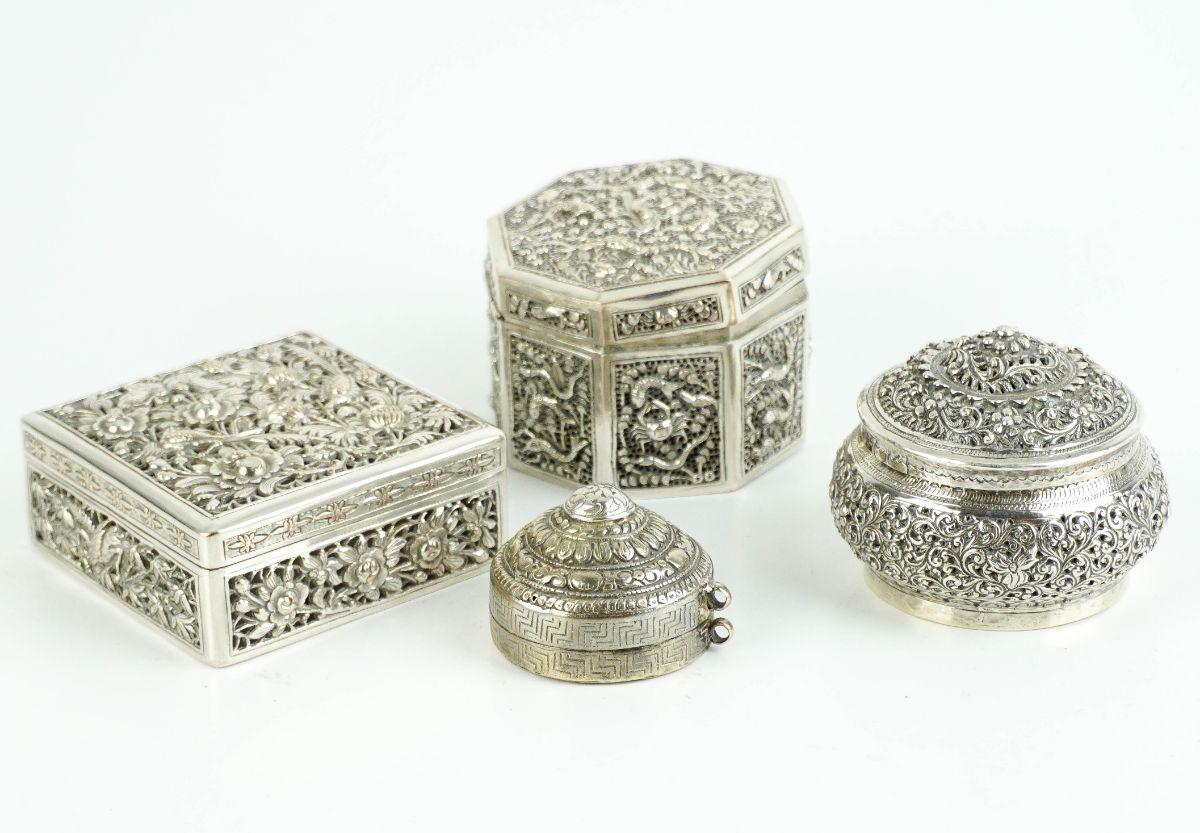 4 Caixas Orientais
