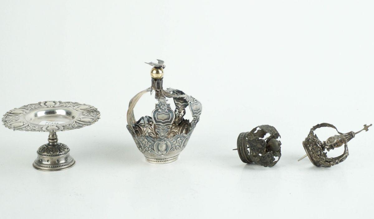 3 Coroas e suporte para coroa