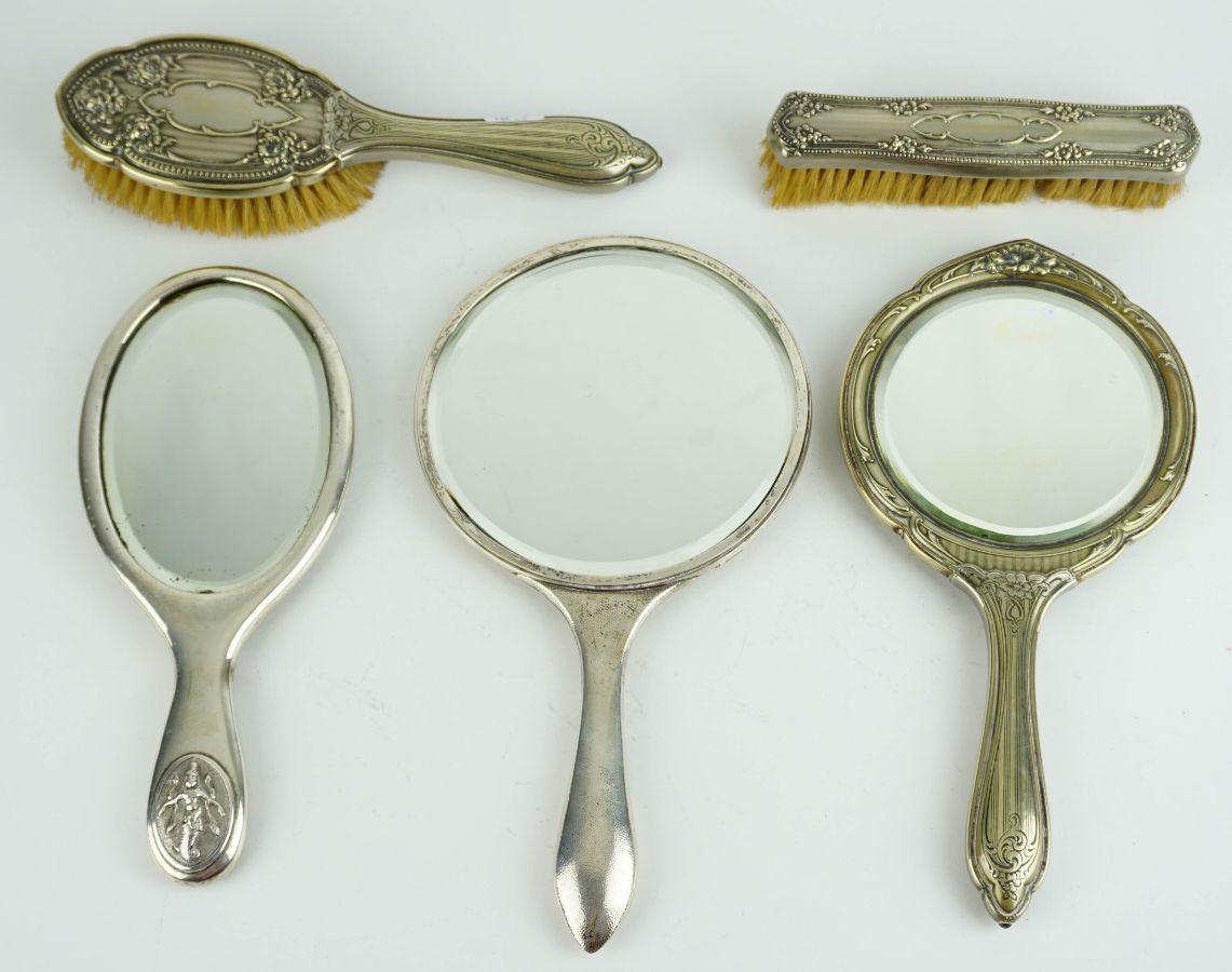 3 Espelhos de mão