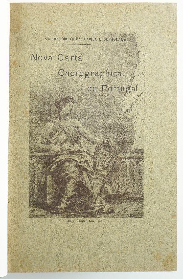 Nova Carta Chorographica de Portugal