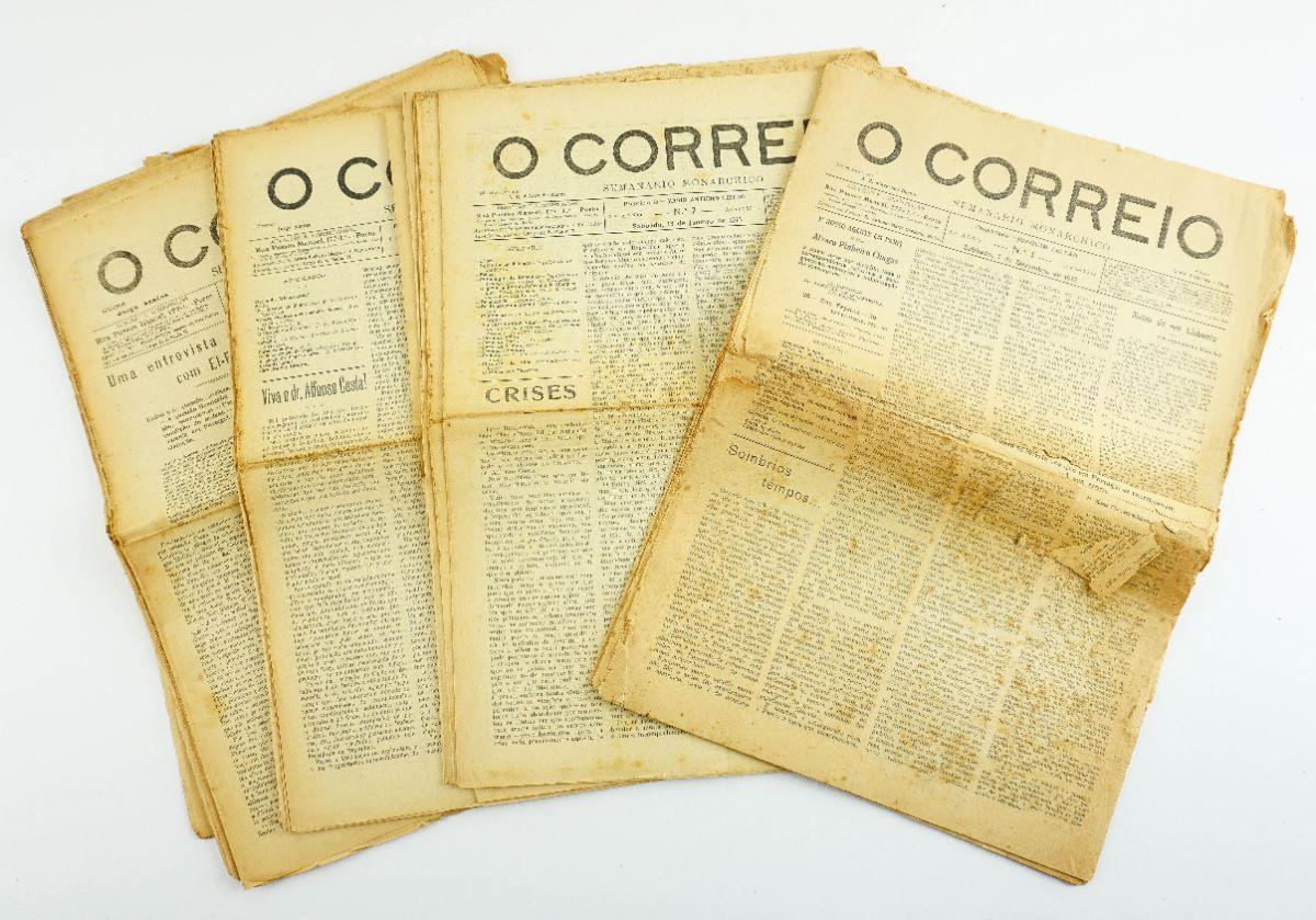 O Correio – Semanário Monárquico (1912-1913)