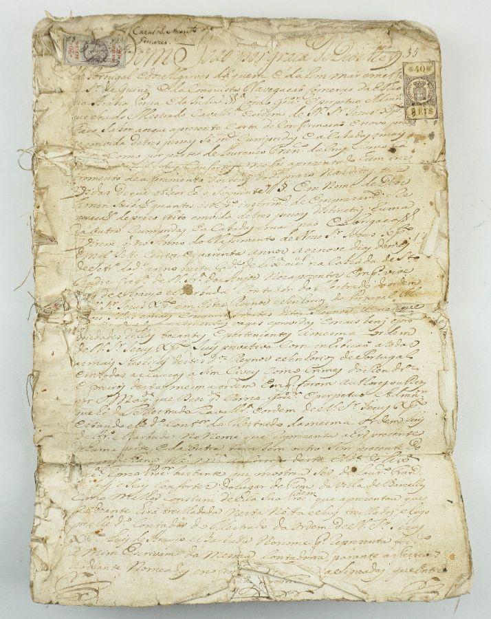 Carta Régia de D. João V (assinada)