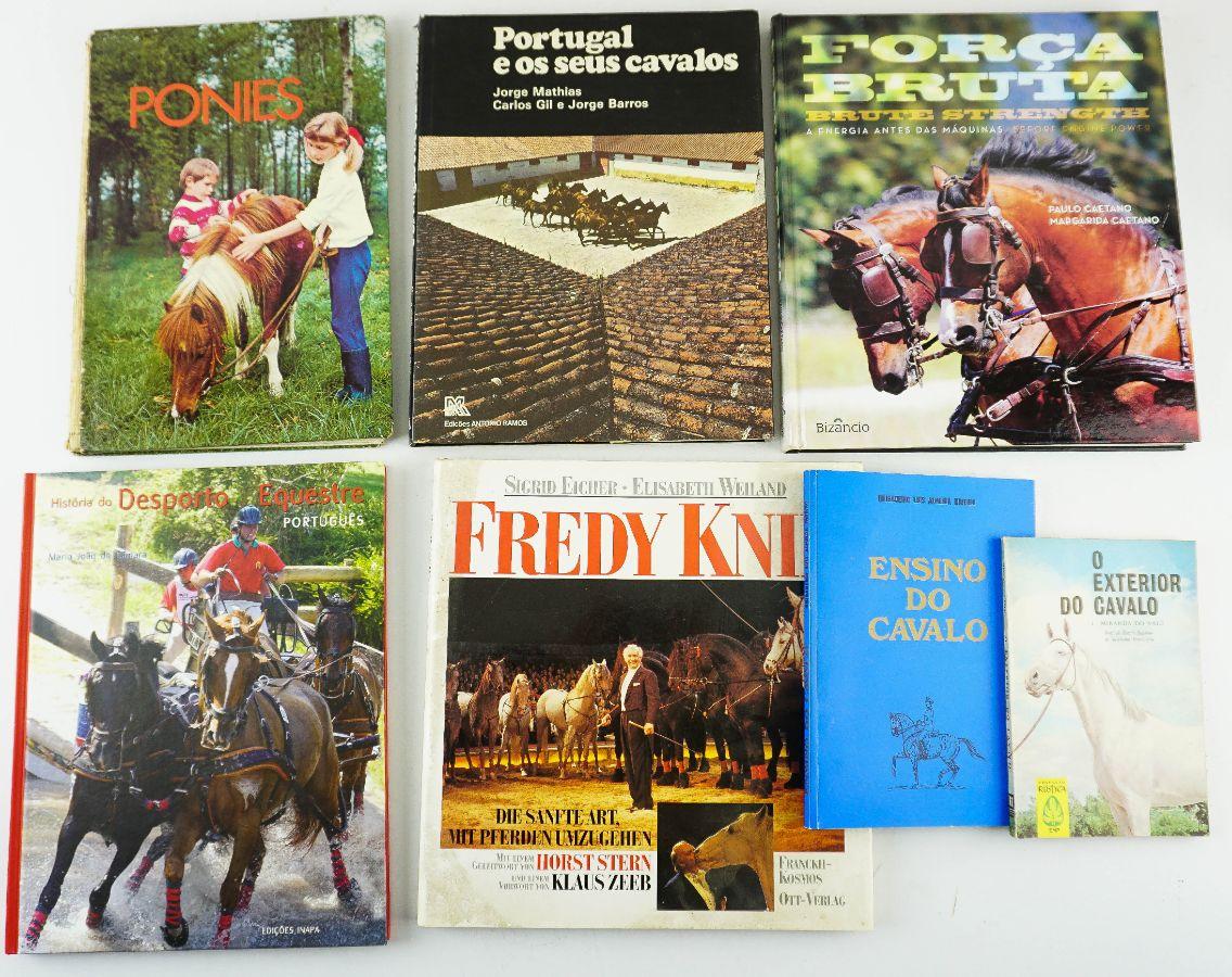7 Livros sobre Cavalos