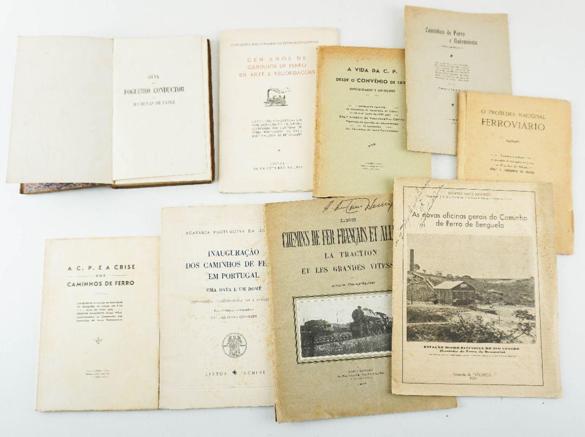 9 Livros sobre Caminhos de Ferro