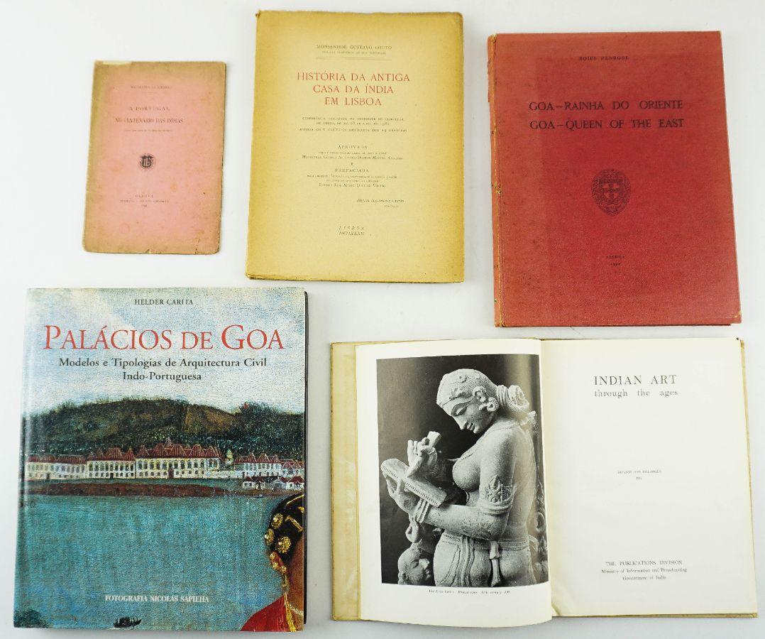5 Livros sobre a Presença Portuguesa na índia