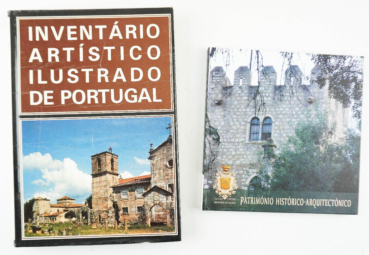 2 Livros sobre Património em Portugal