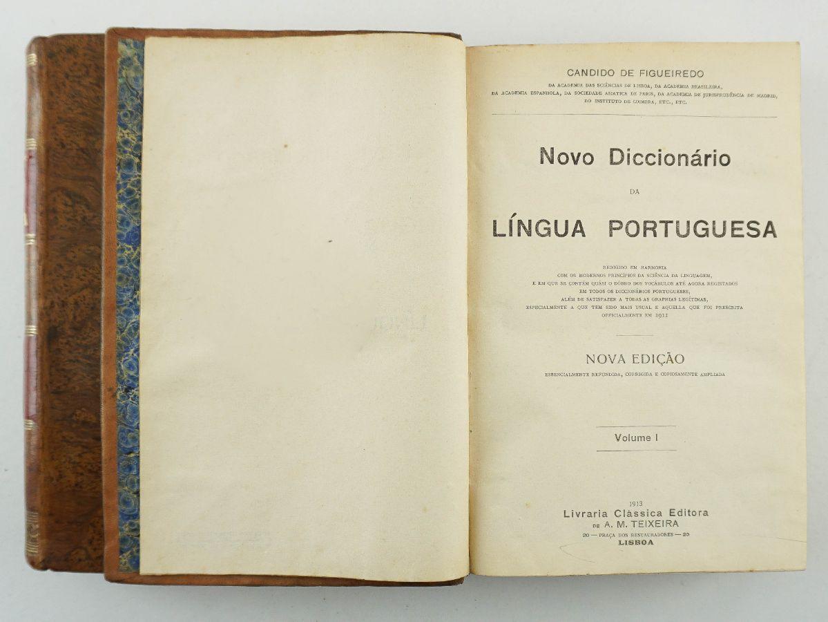 Novo Dicionário da Língua Portuguesa por Cândido de Figueiredo