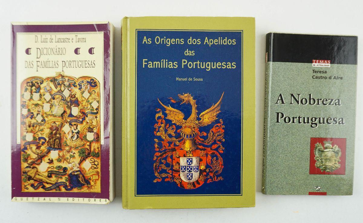 3 Livros sobre Geneologia