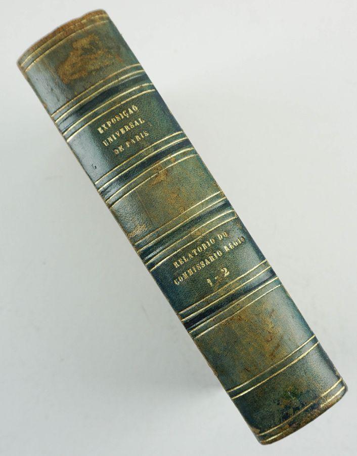 Relatório do Comissário Régio – Exposição Universal de Paris (1857)