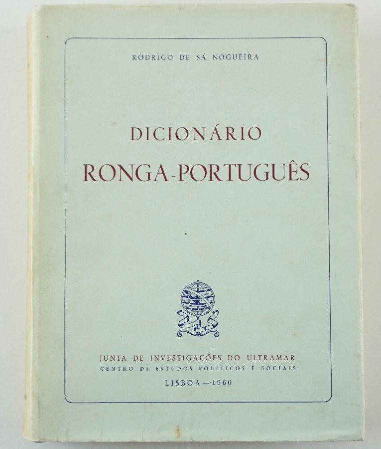 Dicionário Ronga-Português