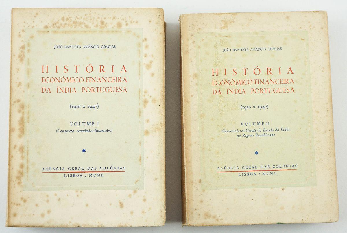 História Económica-Financeira da Índia Portuguesa (1910-1947)