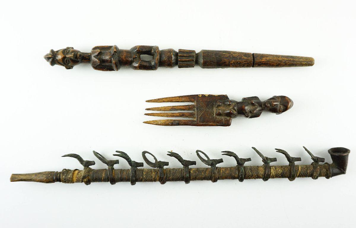 3 Objectos Africanos