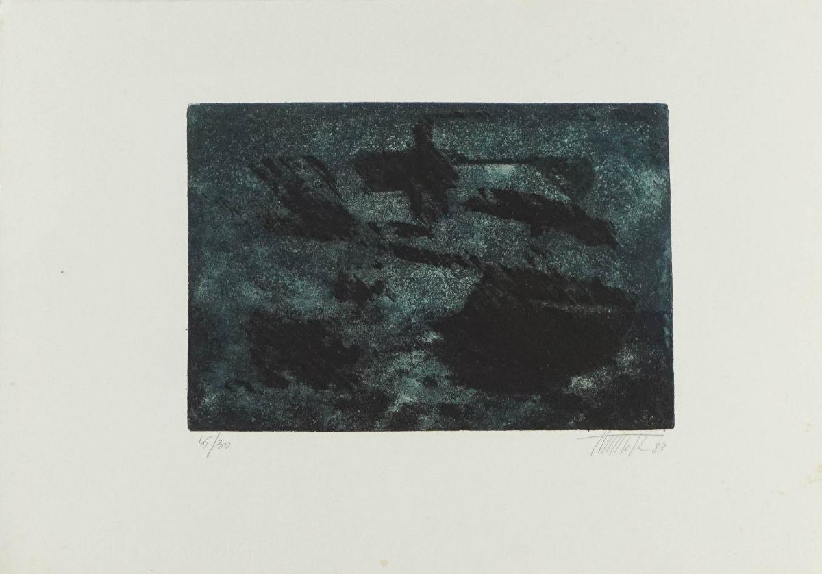 Bronze / Composição abstracta