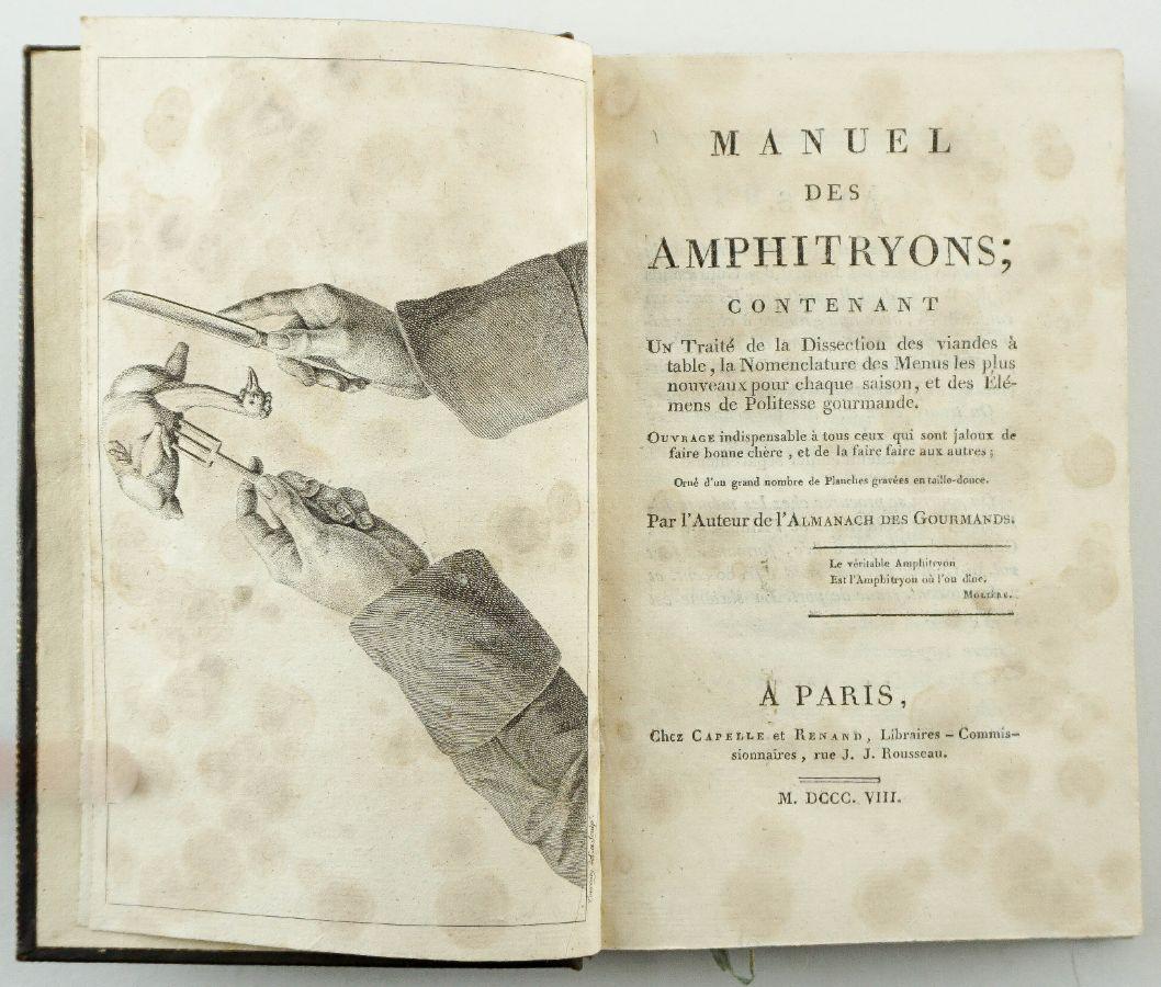Grimod de la Reyniere, Alexandre Balthazar Laurent.