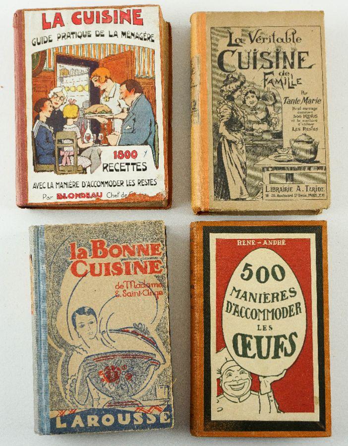 Cozinha Francesa. 4 Livros