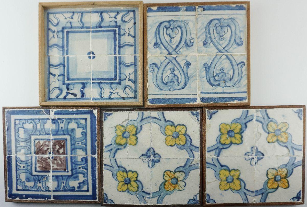 5 Quadras de Azulejos