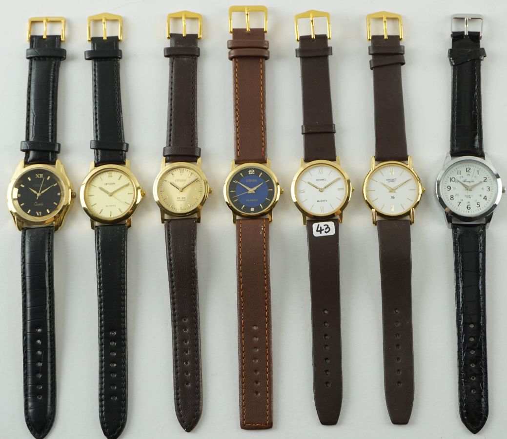 7 Relógios diversos