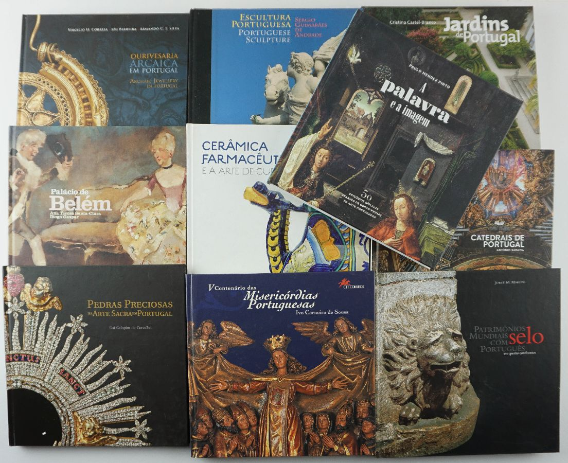 Conjunto de livros dos CTT