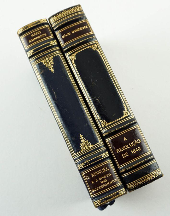 2 livros por Mário Domingues