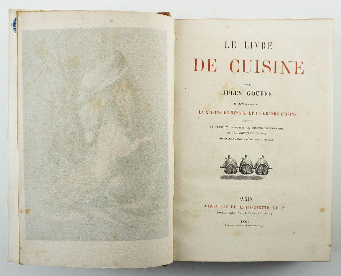 Jules Gouffé, Le Livre de Cuisine