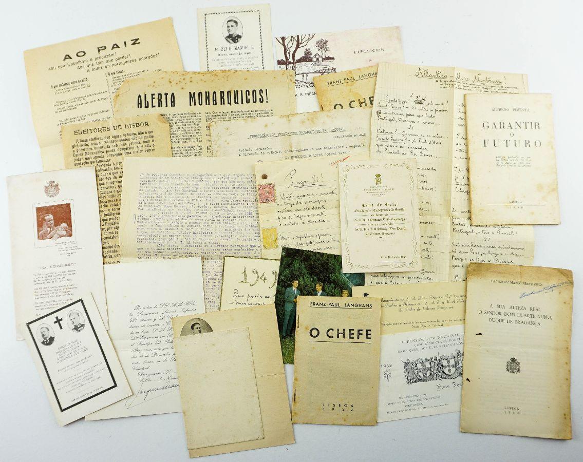 22 documentos monárquicos