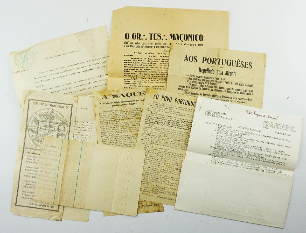 9 documentos Maçónicos