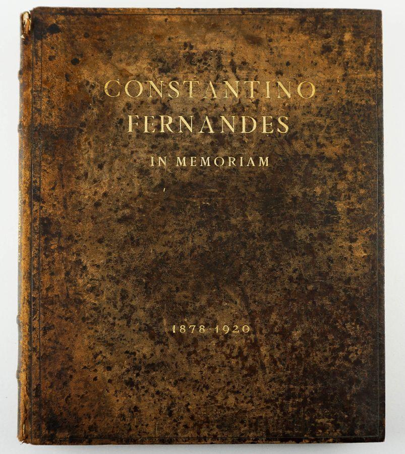 Grande Livro de Constantino Fernandes In Memoriam, 1878-1920