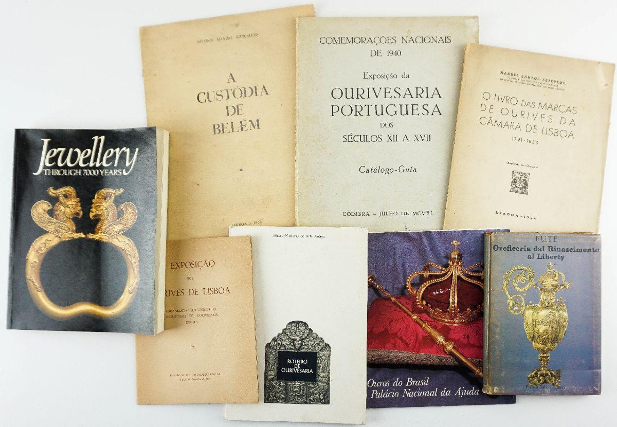 3 Livros de Ourivesaria e 5 Catálogos