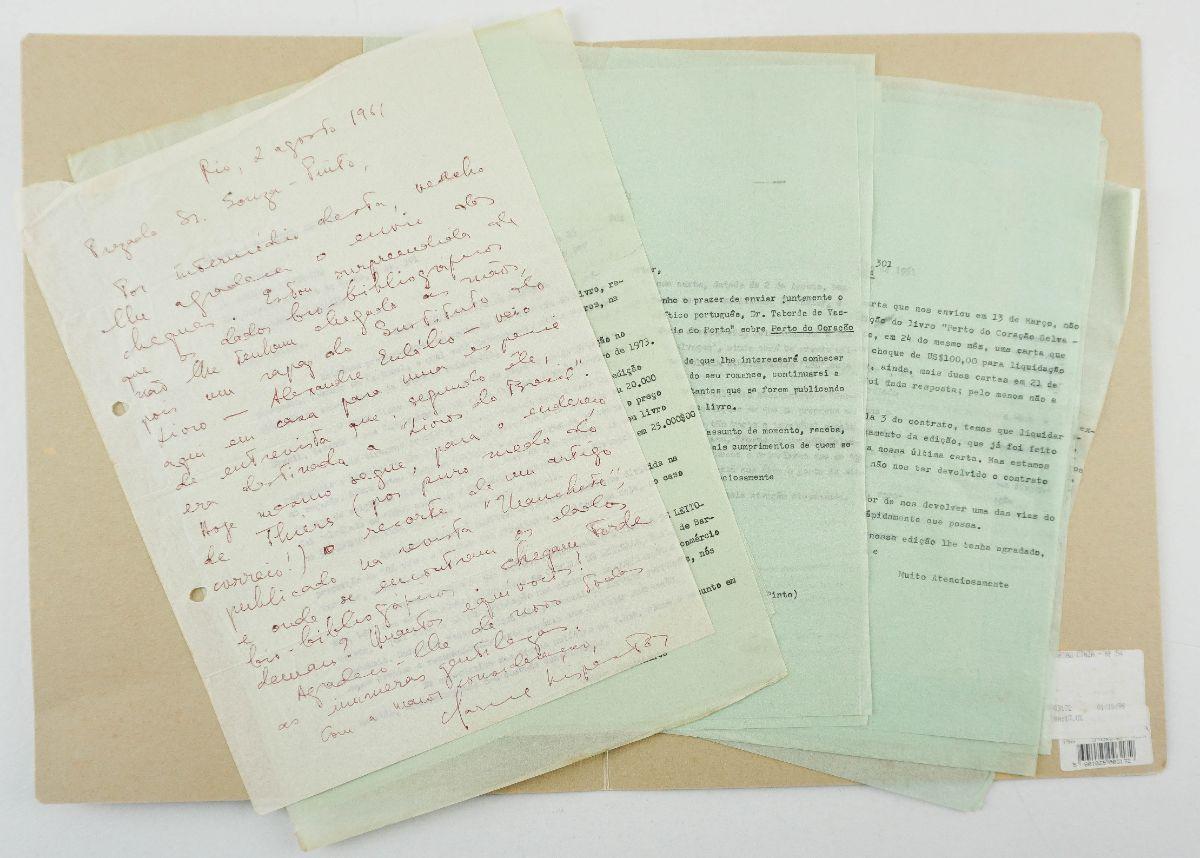 Clarice Lispector – Manuscrito