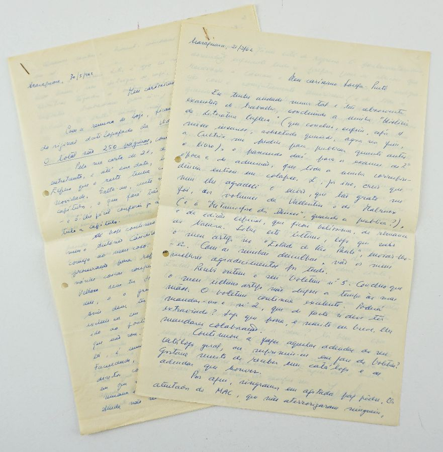 Manuscrito Jorge de Sena