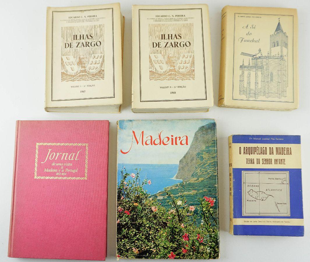 Livros sobre o Arquipélago da Madeira