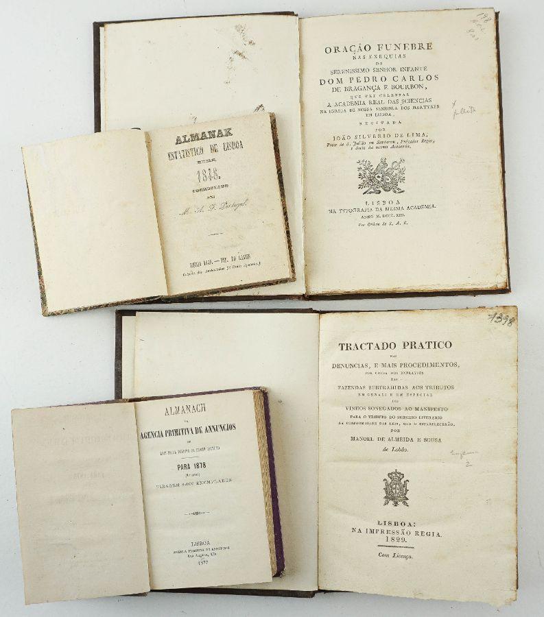 Livros do sec XIX de Diversas Temáticas