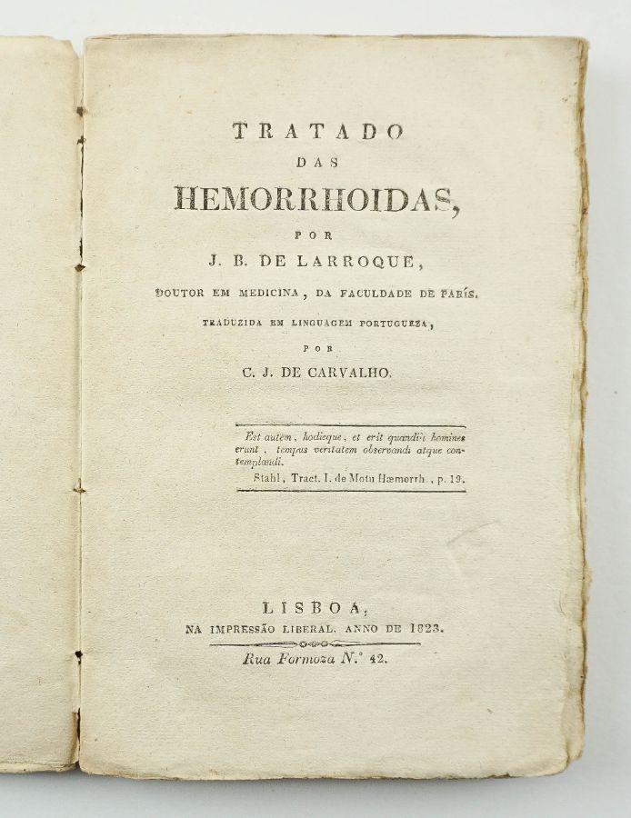 Tratado das hemorrhoidas