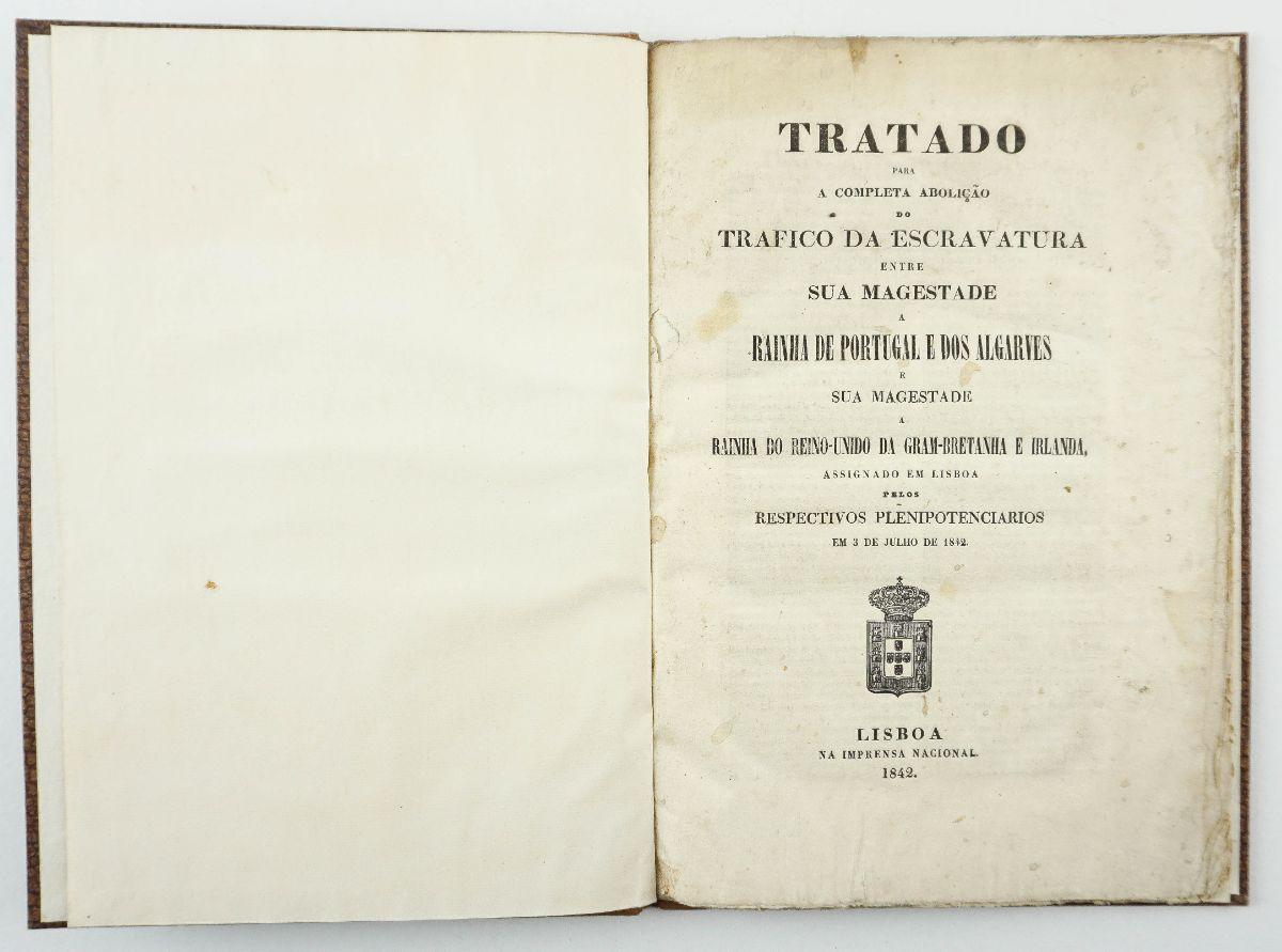 Tratado para a completa abolição do trafico da escravatura