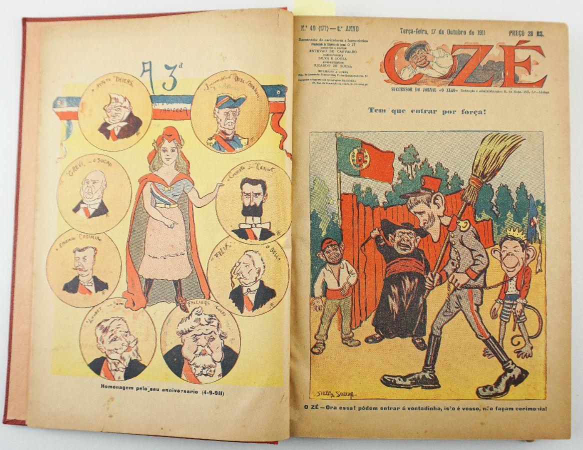 O Zé : semanário de caricaturas e humorístico