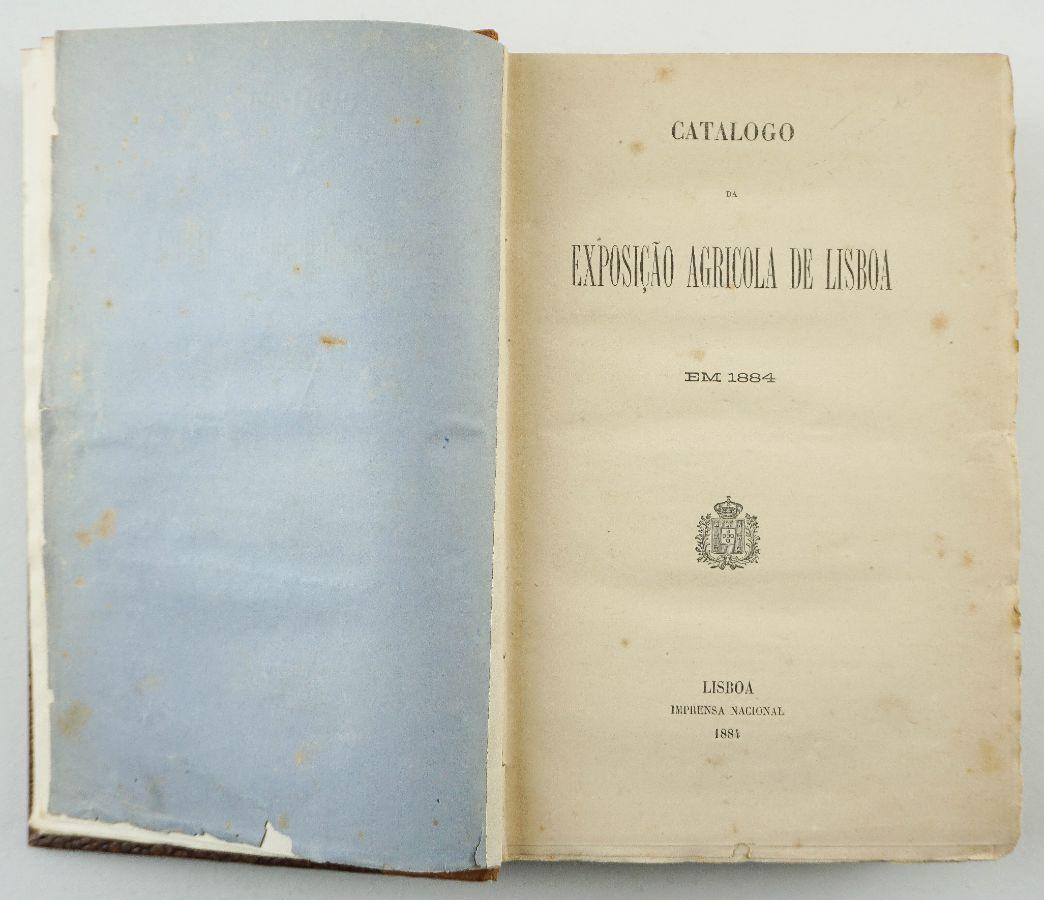 Catalogo da Exposição Agrícola de Lisboa em 1884