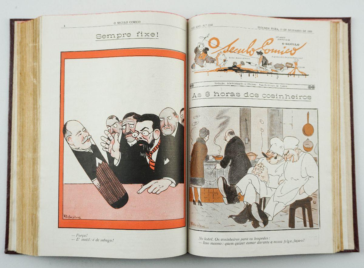 "O seculo comico : suplemento humoristico de ""O seculo"""